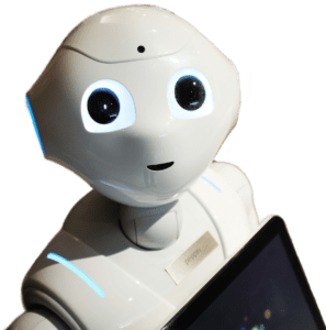 robot pepper is optimistic about the future